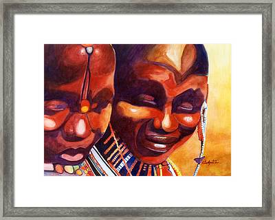 African Queens Framed Print