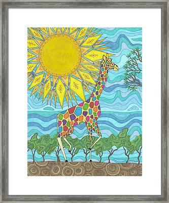 African Rainbow Framed Print