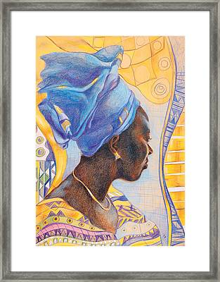 African Secession Framed Print