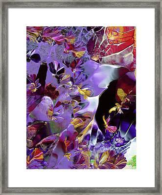 African Violet Awake #2 Framed Print