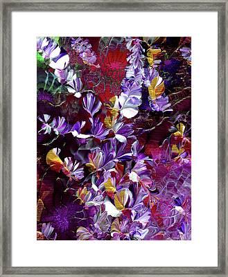 African Violet Awake #4 Framed Print