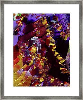 African Violet Awake Framed Print