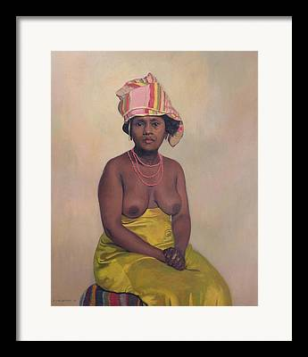 Africaine Framed Prints