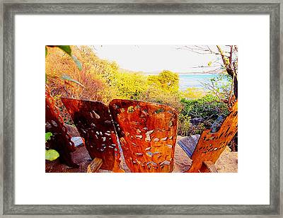 African Wood Carving 04 Framed Print