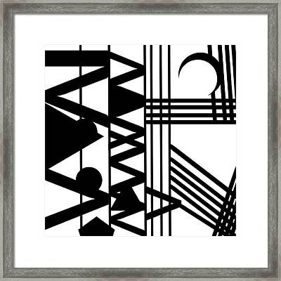 African Yoga  Framed Print by Goas