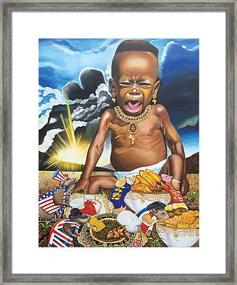 African't Framed Print