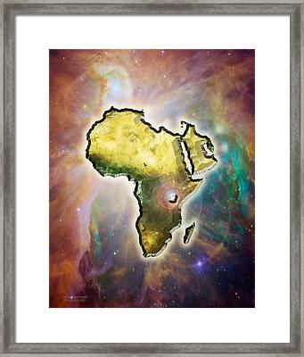 Africas Ascension Framed Print by Albert Stewart