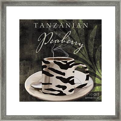 Afrikan Coffees Framed Print by Mindy Sommers