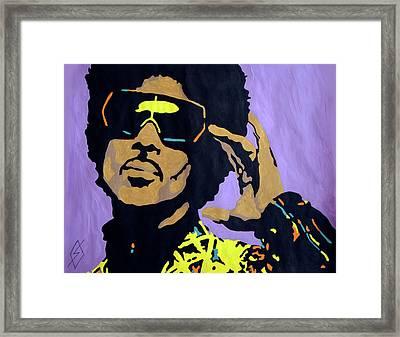 Afro Prince Framed Print