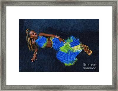 Afrocentric Look Framed Print