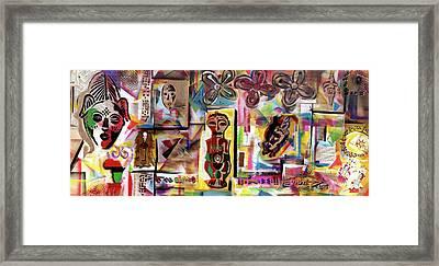 Afrocopia Framed Print