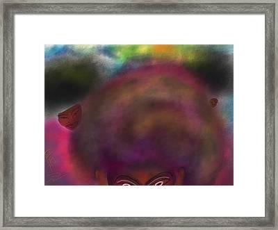 Afrod 1 Framed Print