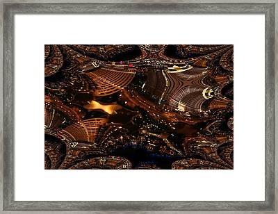 After A Night In Vegas Framed Print by Andrea Lawrence