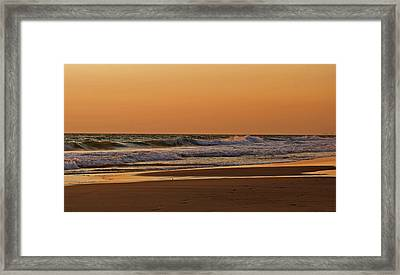 After A Sunset Framed Print