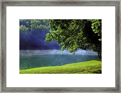After A Warm Summer Rain Framed Print