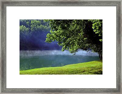 After A Warm Summer Rain Framed Print by Susanne Van Hulst