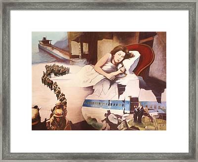 After Alice Framed Print by James LeGros