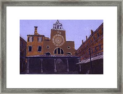 After Campo San Giacometto Framed Print by Hyper - Canaletto