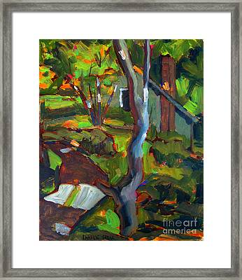 After Cezanne Tanna's Lane Framed Print by Charlie Spear