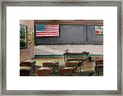 After Class Framed Print by John Williams