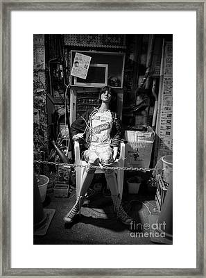 Framed Print featuring the photograph After Dark by Dean Harte