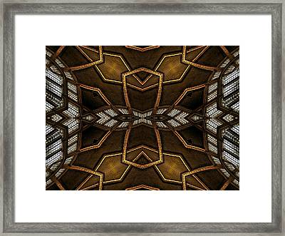 After Deco 11 Framed Print