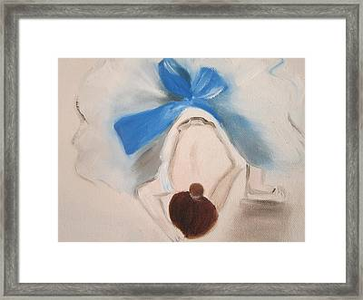 After Degas 'dancer Tying Her Shoes' Framed Print by Maro Kirby