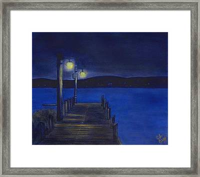 After Dinner Walk Framed Print by Cindy Gray