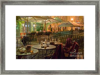 Prague - After Drinking Beer Framed Print by Giuseppe Mauro Panzani