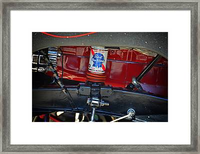 After Drinking The Beer Framed Print by Mike Martin
