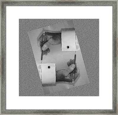 After Escher Framed Print