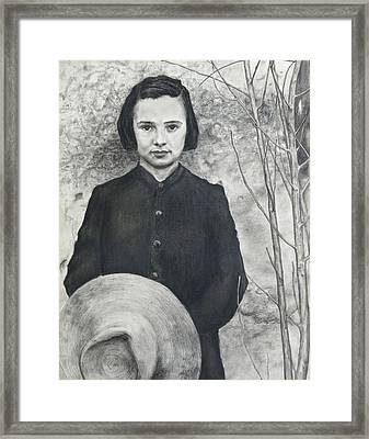 After Fsa Photo By Walker Evans Framed Print by Richard Barone