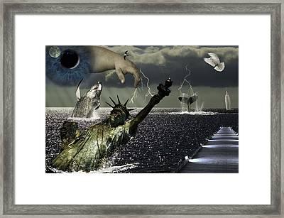 After Global Warming Framed Print