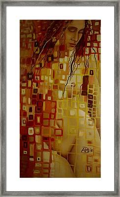 After Hanging Framed Print by Ana-Maria Dragomir Cioroiu