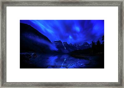 Framed Print featuring the photograph After Midnight by John Poon