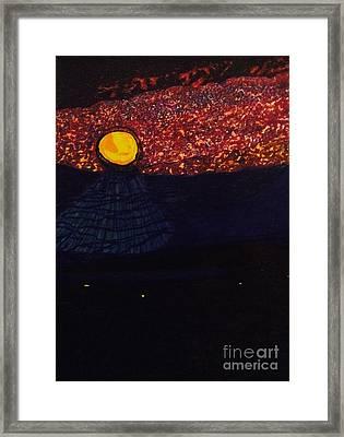 After Midnight Play Framed Print by Ishy Christine Degyansky