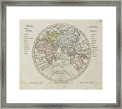 After Most Proven Expedients And Astronomical Orstbestimmungen Framed Print