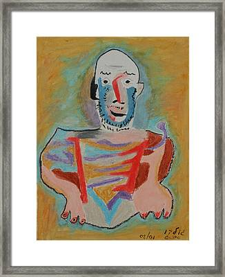 After Picasso Framed Print by Harris Gulko