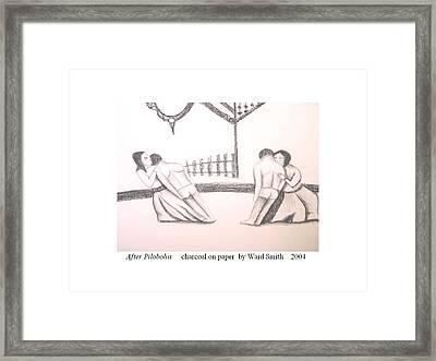 After Pilobolus Framed Print by Ward Smith