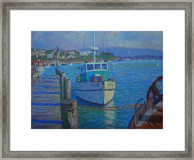 After Rain Riverton Framed Print