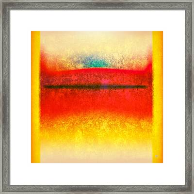 After Rothko 8 Framed Print by Gary Grayson