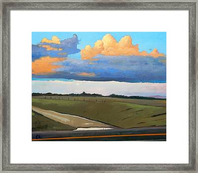 Framed Print featuring the painting After Shower by Gary Coleman