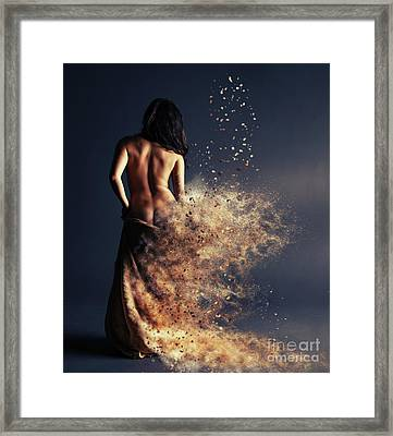 After Framed Print by Nichola Denny