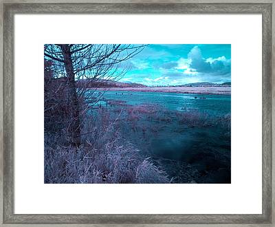Framed Print featuring the photograph After Storm Surrealism by Chriss Pagani