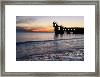 After Sunset Blackrock 2 Framed Print
