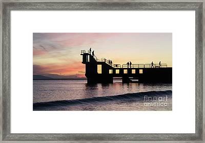 After Sunset Blackrock 4 Framed Print