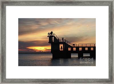After Sunset Blackrock 5 Framed Print