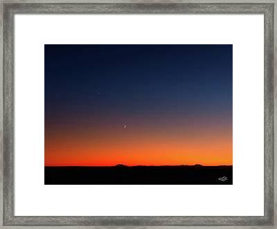After Sunset Framed Print by Leland D Howard