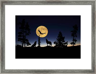 After Sunset Framed Print by Shane Bechler