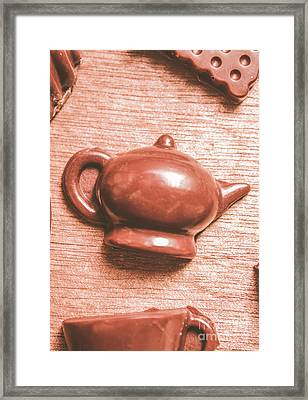 After Tea Confection Framed Print